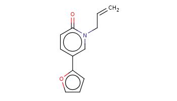 C=CCn1cc(ccc1=O)c2ccco2