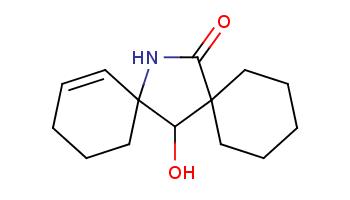C1CCC2(CC1)C(C3(CCCC=C3)NC2=O)O