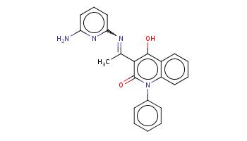 CC(=Nc1cccc(n1)N)c2c(c3ccccc3n(c2=O)c4ccccc4)O