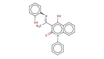 CC(=Nc1ccccc1O)c2c(c3ccccc3n(c2=O)c4ccccc4)O