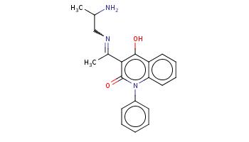 CC(CN=C(C)c1c(c2ccccc2n(c1=O)c3ccccc3)O)N