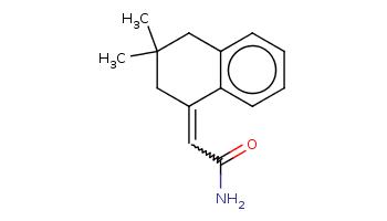 CC1(Cc2ccccc2C(=CC(=O)N)C1)C