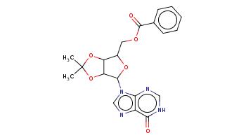 CC1(OC2C(OC(C2O1)n3cnc4c3nc[nH]c4=O)COC(=O)c5ccccc5)C