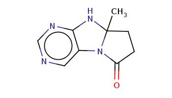 CC12CCC(=O)N1c3cncnc3N2