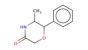 CC1C(OCC(=O)N1)c2ccccc2