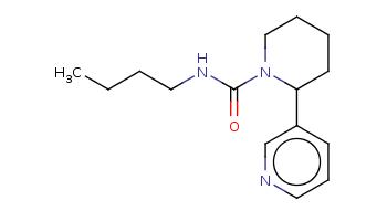 CCCCNC(=O)N1CCCCC1c2cccnc2