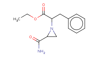 CCOC(=O)C(Cc1ccccc1)N2CC2C(=O)N