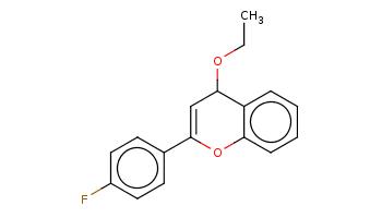 CCOC1C=C(Oc2c1cccc2)c3ccc(cc3)F