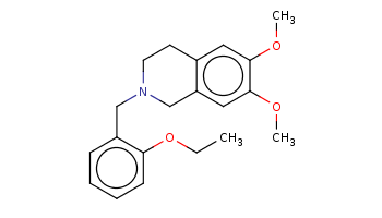 CCOc1ccccc1CN2CCc3cc(c(cc3C2)OC)OC