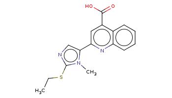 CCSc1ncc(n1C)c2cc(c3ccccc3n2)C(=O)O
