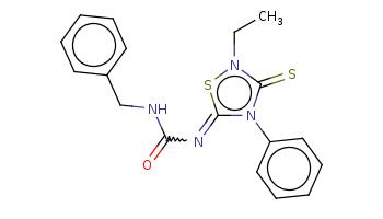 CCn1c(=S)n(c(=NC(=O)NCc2ccccc2)s1)c3ccccc3