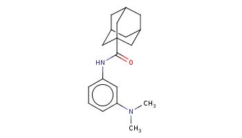 CN(C)c1cccc(c1)NC(=O)C23CC4CC(C2)CC(C4)C3