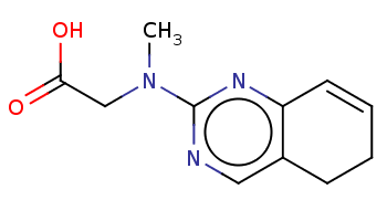 CN(CC(=O)O)c1ncc2c(n1)C=CCC2
