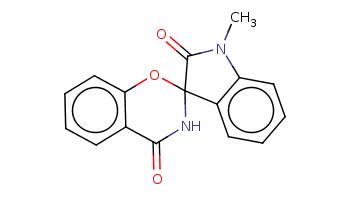 CN1c2ccccc2C3(C1=O)NC(=O)c4ccccc4O3