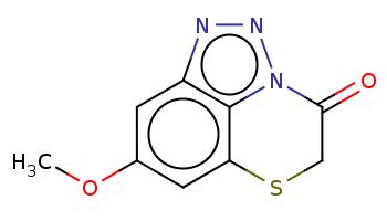 COc1cc2c3c(c1)SCC(=O)n3nn2