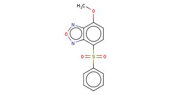COc1ccc(c2c1non2)S(=O)(=O)c3ccccc3