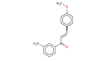 COc1ccc(cc1)C=CC(=O)c2cccc(c2)N
