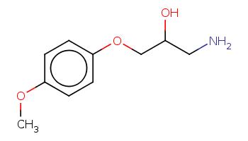 COc1ccc(cc1)OCC(CN)O