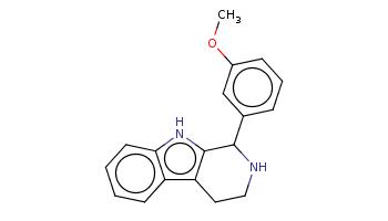 COc1cccc(c1)C2c3c(c4ccccc4[nH]3)CCN2