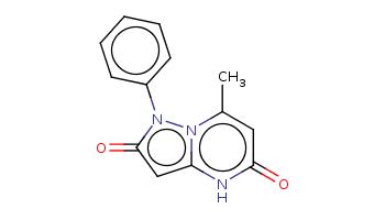 Cc1cc(=O)[nH]c2n1n(c(=O)c2)c3ccccc3