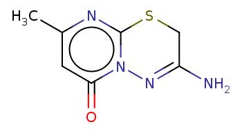 Cc1cc(=O)n2c(n1)SCC(=N2)N