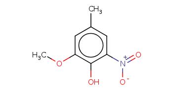 Cc1cc(c(c(c1)OC)O)[N+](=O)[O-]