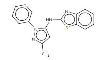 Cc1cc(n(n1)c2ccccc2)Nc3nc4ccccc4s3