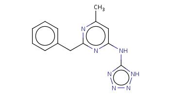 Cc1cc(nc(n1)Cc2ccccc2)Nc3[nH]nnn3