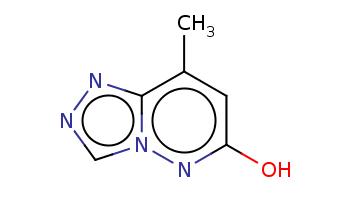 Cc1cc(nn2c1nnc2)O
