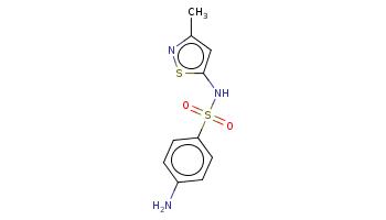 Cc1cc(sn1)NS(=O)(=O)c2ccc(cc2)N