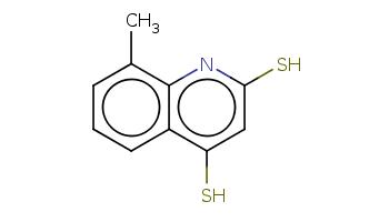 Cc1cccc2c1nc(cc2S)S