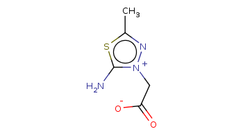Cc1n[n+](c(s1)N)CC(=O)[O-]