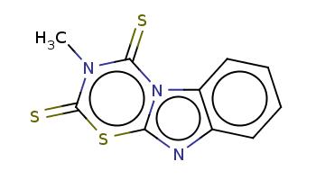Cn1c(=S)n2c3ccccc3nc2sc1=S