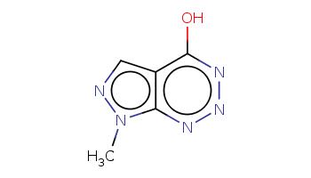 Cn1c2c(cn1)c(nnn2)O