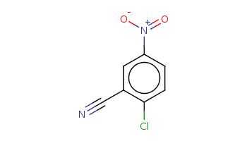c1cc(c(cc1[N+](=O)[O-])C#N)Cl