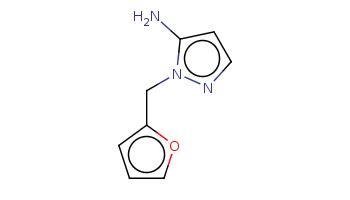 c1cc(oc1)Cn2c(ccn2)N
