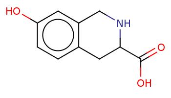 c1cc2c(cc1O)CNC(C2)C(=O)O