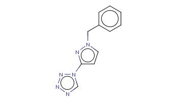 c1ccc(cc1)Cn2ccc(n2)n3cnnn3