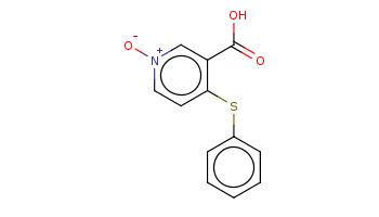 c1ccc(cc1)Sc2cc[n+](cc2C(=O)O)[O-]