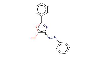 c1ccc(cc1)c2nc(c(o2)O)N=Nc3ccccc3