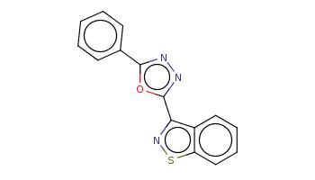 c1ccc(cc1)c2nnc(o2)c3c4ccccc4sn3