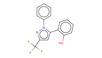 c1ccc(cc1)n2c(cc(n2)C(F)(F)F)c3ccccc3O