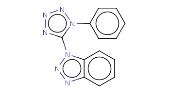 c1ccc(cc1)n2c(nnn2)n3c4ccccc4nn3