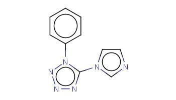 c1ccc(cc1)n2c(nnn2)n3ccnc3