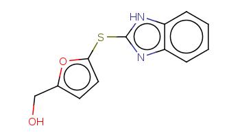 c1ccc2c(c1)[nH]c(n2)Sc3ccc(o3)CO