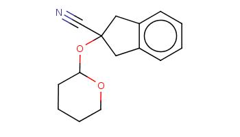 c1ccc2c(c1)CC(C2)(C#N)OC3CCCCO3
