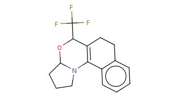 c1ccc2c(c1)CCC3=C2N4CCCC4OC3C(F)(F)F