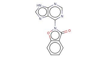c1ccc2c(c1)c(=O)n(o2)c3c4c([nH]cn4)ncn3
