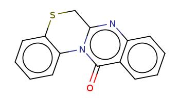 c1ccc2c(c1)c(=O)n-3c(n2)CSc4c3cccc4