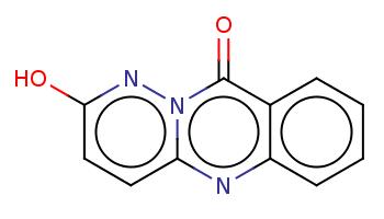 c1ccc2c(c1)c(=O)n3c(n2)ccc(n3)O